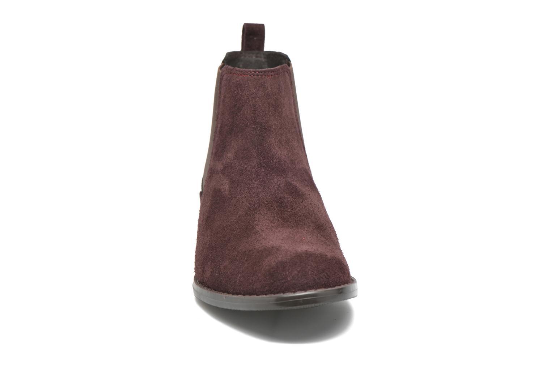 Bottines et boots Georgia Rose Celadon Bordeaux vue portées chaussures