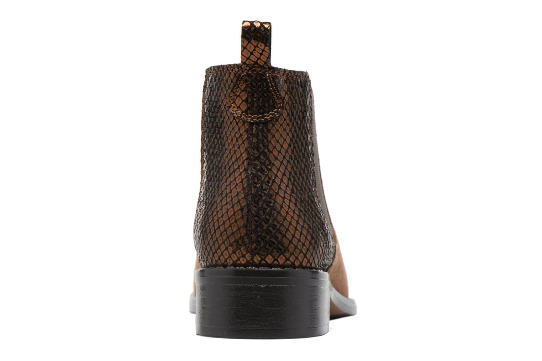 Bottines et boots Georgia Rose Celadon Beige vue droite