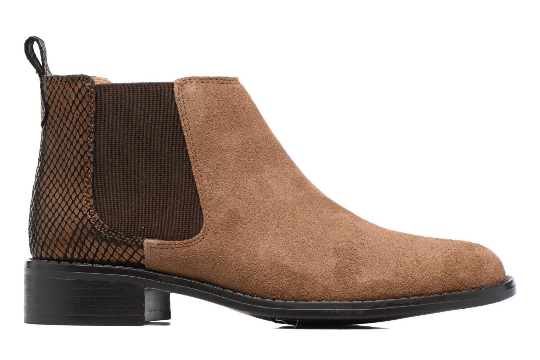 Bottines et boots Georgia Rose Celadon Beige vue derrière
