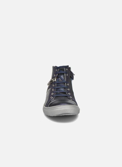 Baskets Achile Kami Bleu vue portées chaussures