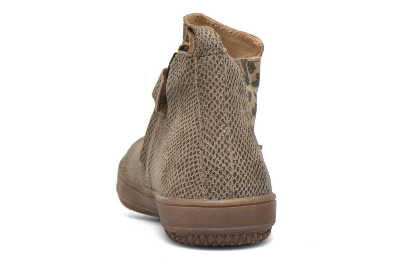 Bottines et boots Achile Sara Marron vue droite