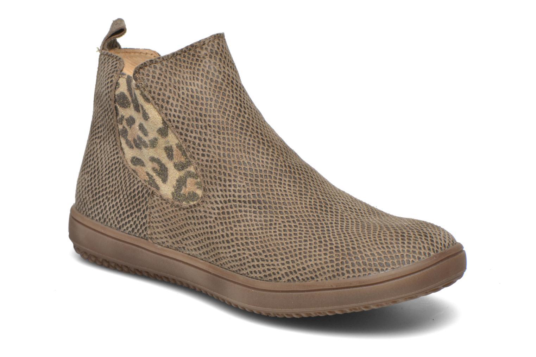 Bottines et boots Achile Sara Marron vue détail/paire