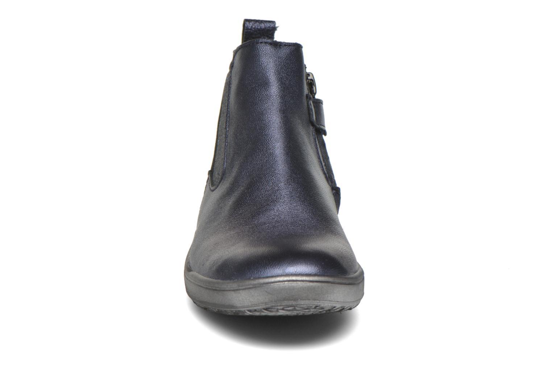 Bottines et boots Achile Sara Bleu vue portées chaussures