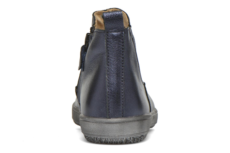 Bottines et boots Achile Sara Bleu vue droite