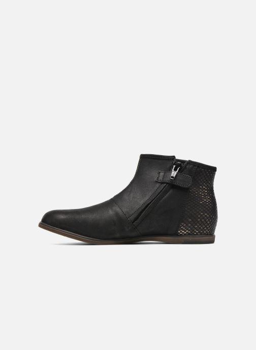 Boots en enkellaarsjes Achile Julie Zwart voorkant