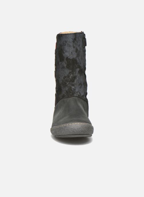 Bottes Achile Sofia Noir vue portées chaussures