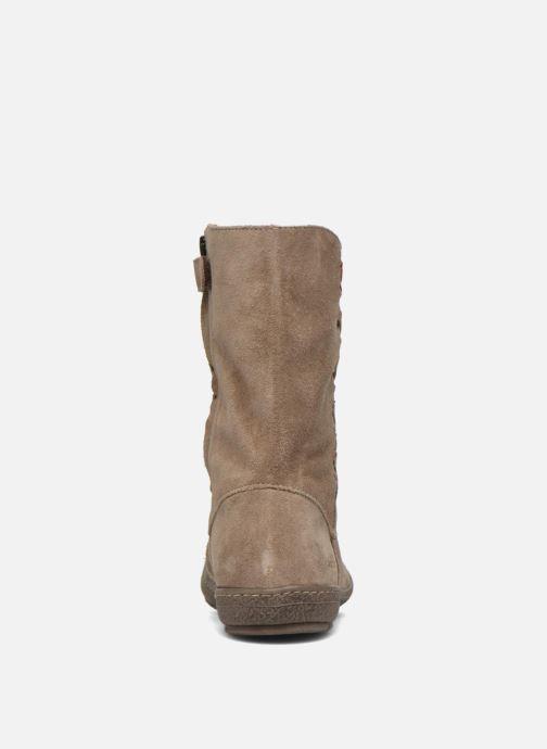 Støvler & gummistøvler Achile Sofia Beige Se fra højre