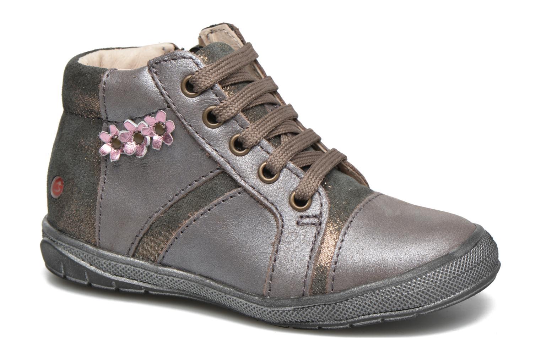 Baskets GBB Noelle Or et bronze vue portées chaussures