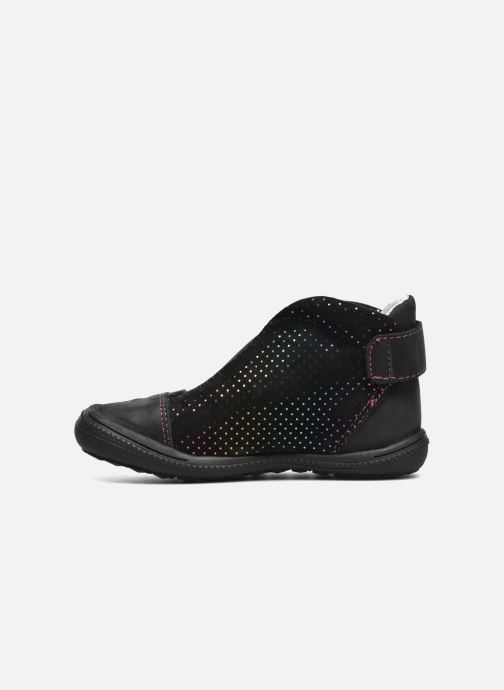 Chaussures à scratch GBB Nolween Noir vue face