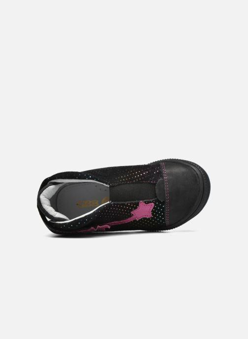 Chaussures à scratch GBB Nolween Noir vue gauche