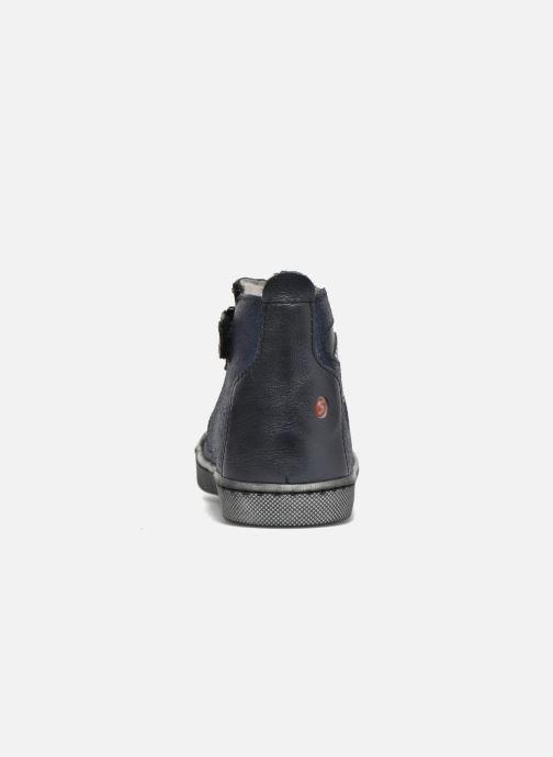 Boots GBB Liat Blå Bild från höger sidan