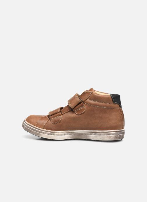 Sneakers GBB Nazaire Marrone immagine frontale