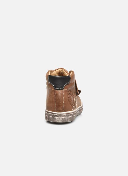 Sneakers GBB Nazaire Marrone immagine destra