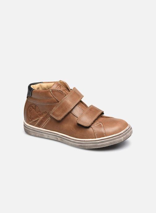 Sneakers GBB Nazaire Marrone vedi dettaglio/paio