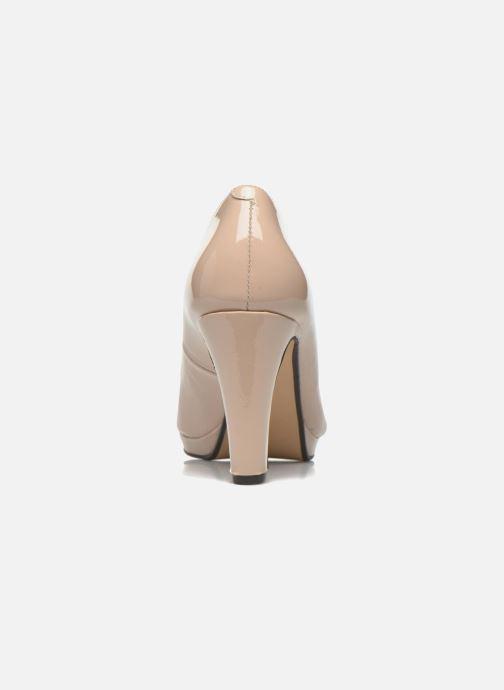 Zapatos de tacón Georgia Rose Sialto Beige vista lateral derecha