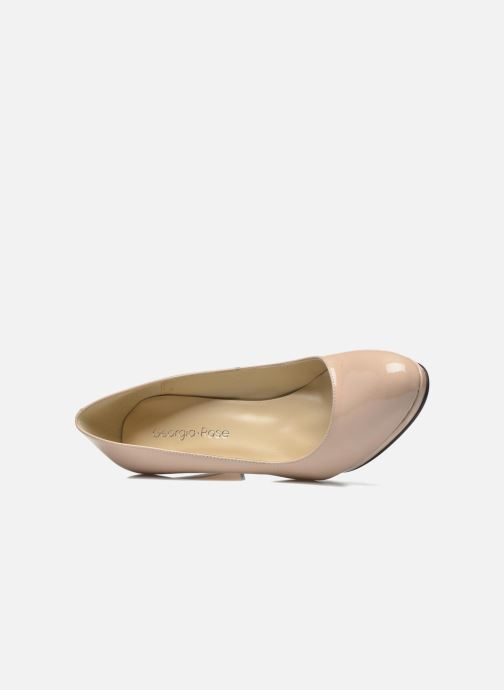 High heels Georgia Rose Sialto Beige view from the left