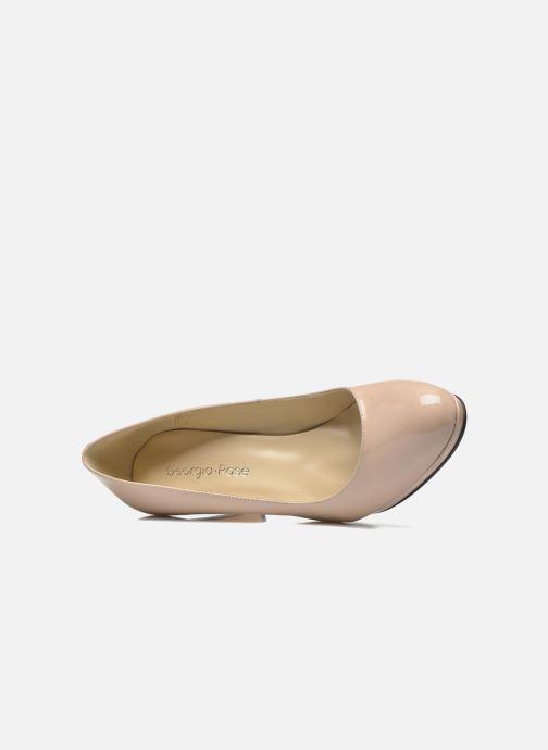Zapatos de tacón Georgia Rose Sialto Beige vista lateral izquierda