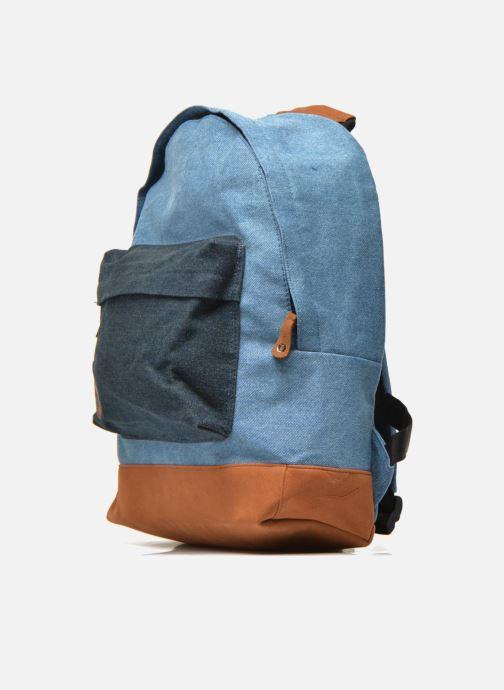 Zaini Mi-Pac Premium Denim Azzurro modello indossato