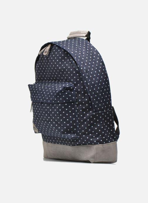 Sacs à dos Mi-Pac Premium Denim Bleu vue portées chaussures