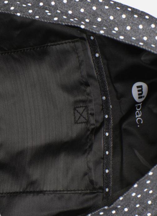 Rugzakken Mi-Pac Premium Denim Zwart achterkant