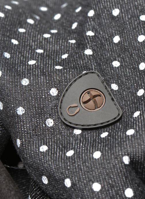 Mochilas Mi-Pac Premium Denim Negro vista lateral izquierda