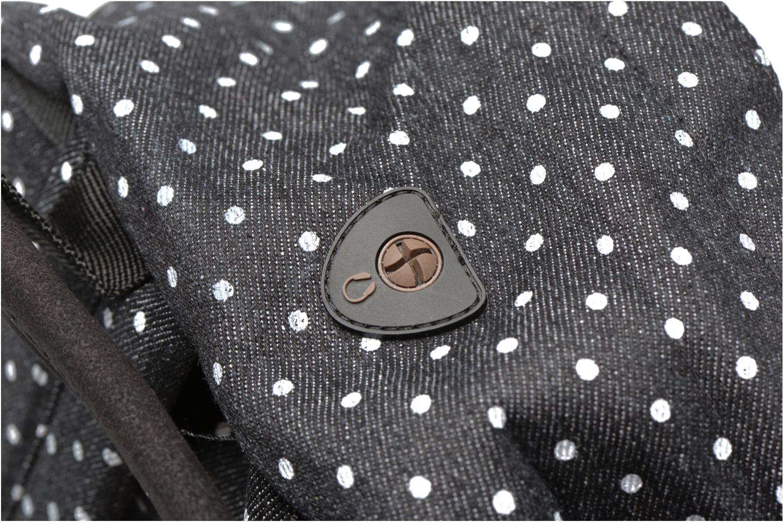 Sacs à dos Mi-Pac Premium Denim Noir vue gauche
