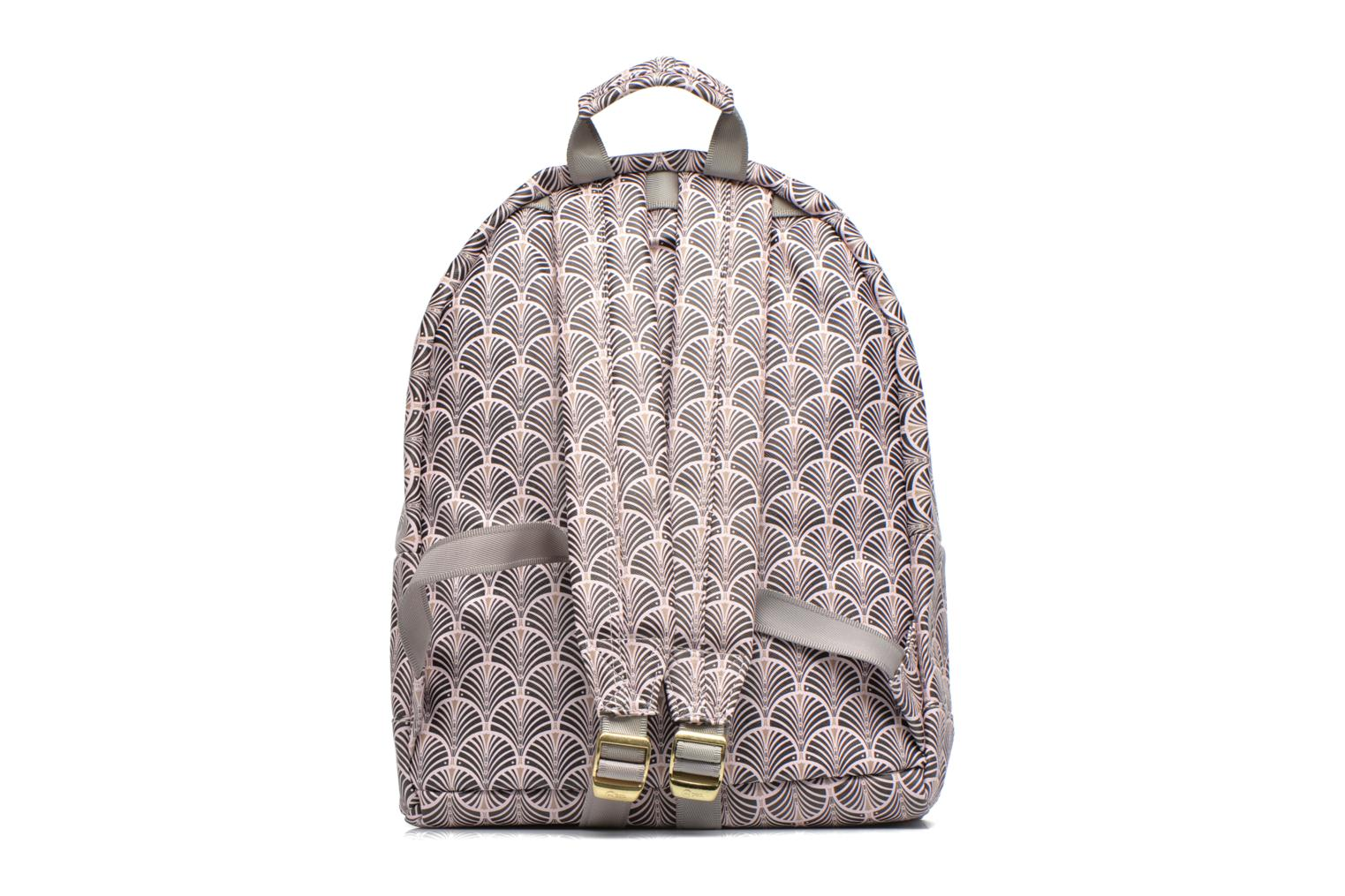 Sporttassen Mi-Pac Gold Art Deco Backpack Beige voorkant
