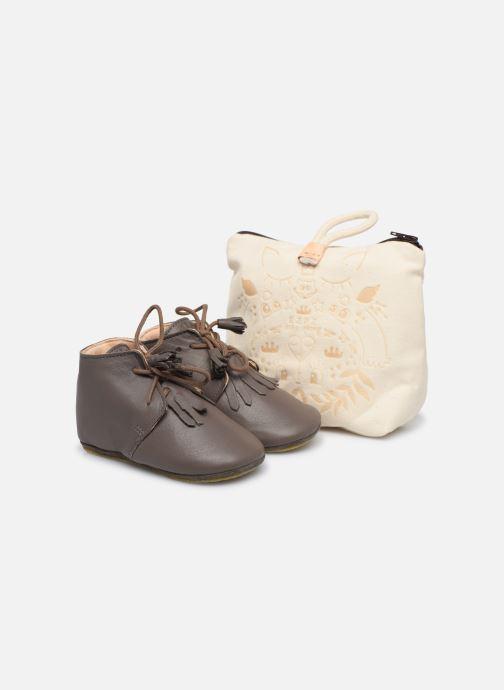 Hjemmesko Easy Peasy Mexip Grå detaljeret billede af skoene