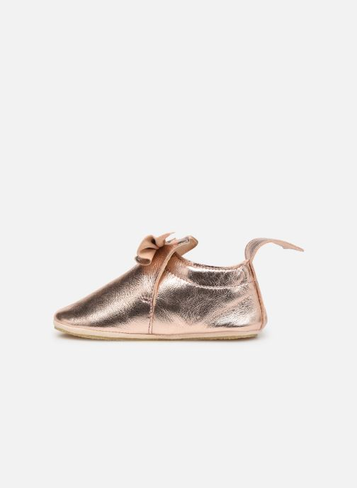 Chaussons Easy Peasy Blublu Nœud Rose vue face