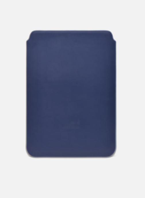 Marroquinería pequeña Love Moschino Ipad clutch Azul vista de frente