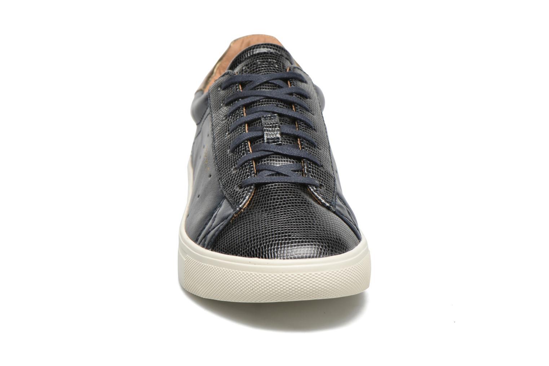 Baskets Esprit Lizette Lace Up Bleu vue portées chaussures