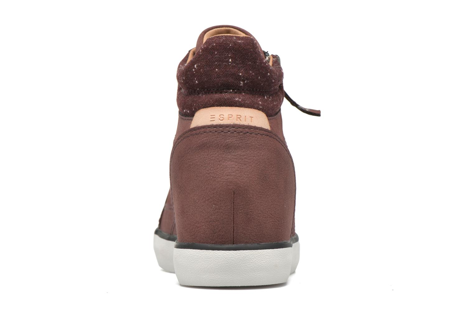 Sneakers Esprit Star Wedge 2 Bordeaux rechts