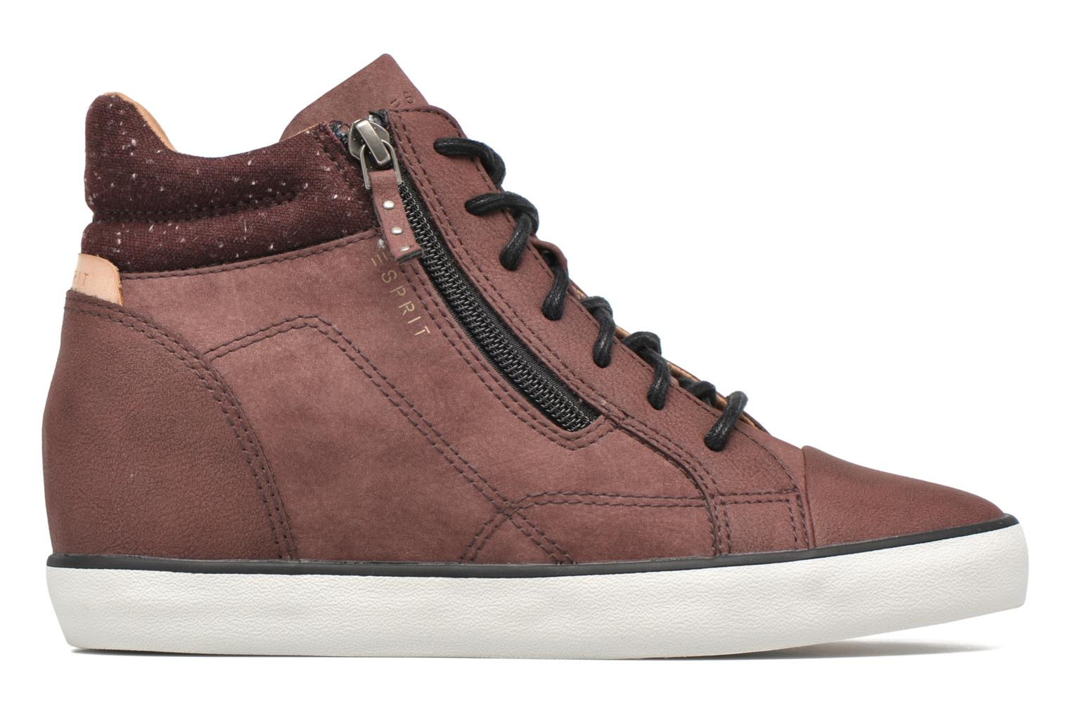 Sneakers Esprit Star Wedge 2 Bordeaux achterkant