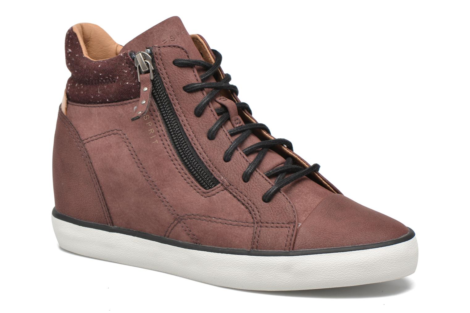 Sneakers Esprit Star Wedge 2 Bordeaux detail