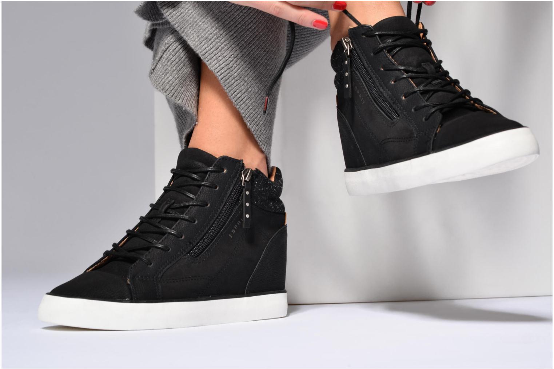 Sneakers Esprit Star Wedge 2 Zwart onder