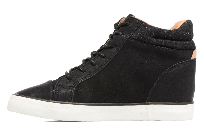 Sneakers Esprit Star Wedge 2 Zwart voorkant