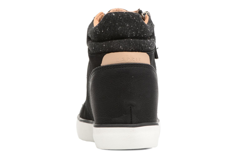 Sneakers Esprit Star Wedge 2 Zwart rechts