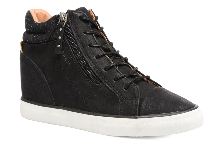 Sneakers Esprit Star Wedge 2 Zwart detail