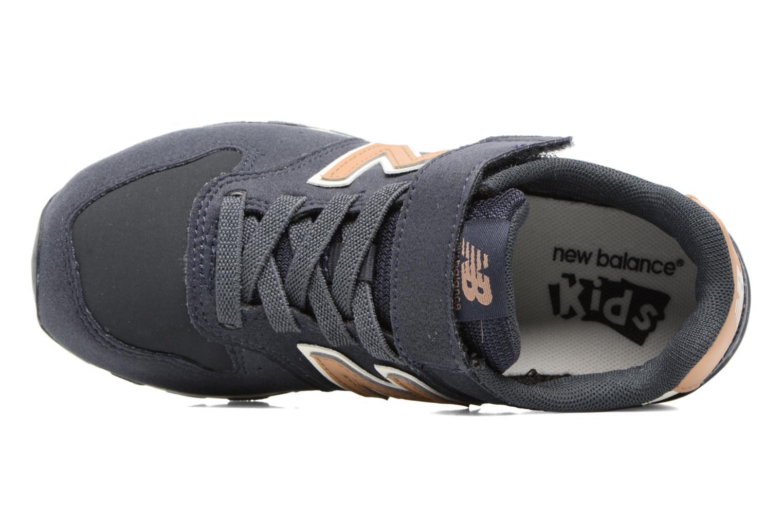 Baskets New Balance KV996 J Bleu vue gauche