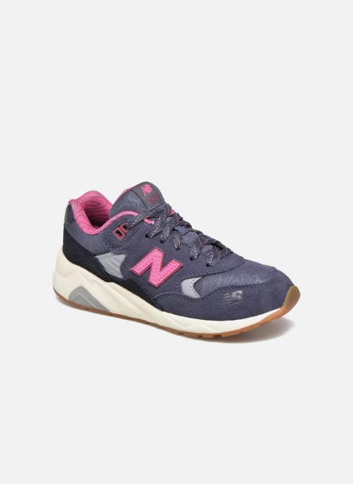 Trainers New Balance KL580 J Grey detailed view/ Pair view