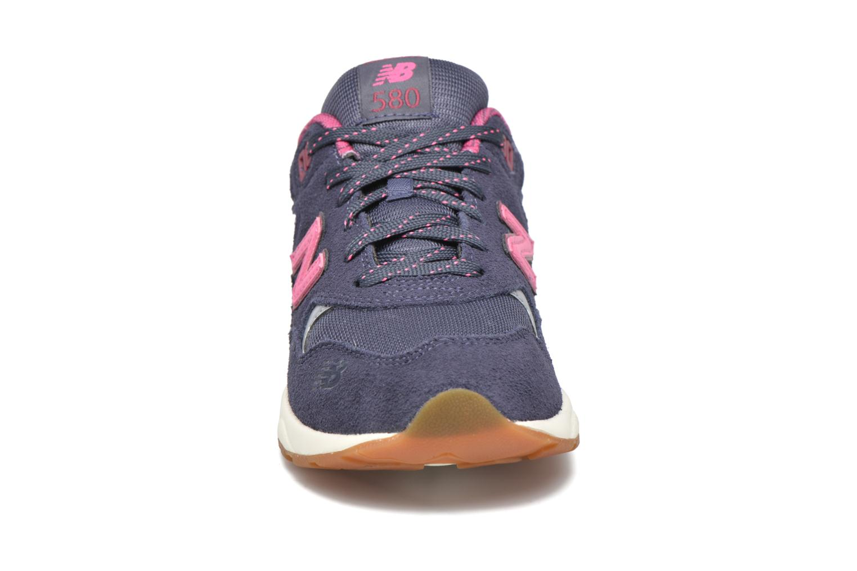 Sneakers New Balance KL580 J Grigio modello indossato