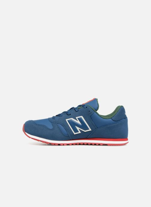 Baskets New Balance KJ373 J Bleu vue face