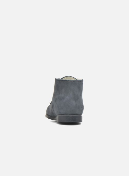 Ankle boots Little Mary Milocho Blue view from the right