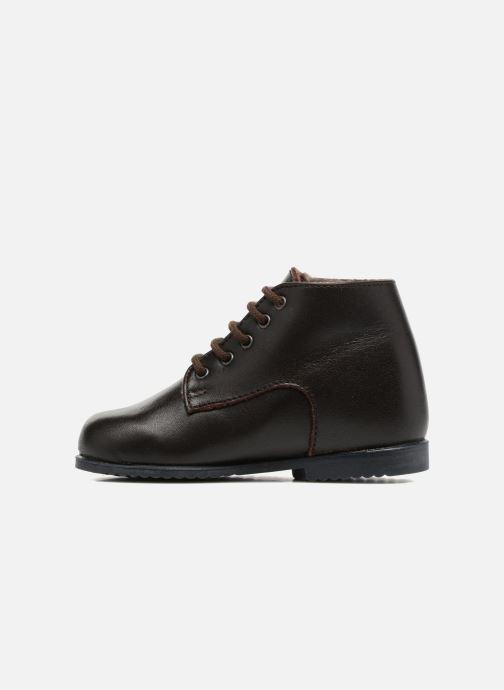 Bottines et boots Little Mary Milocho Marron vue face