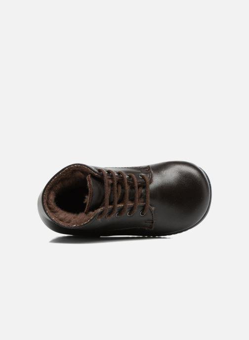 Bottines et boots Little Mary Milocho Marron vue gauche
