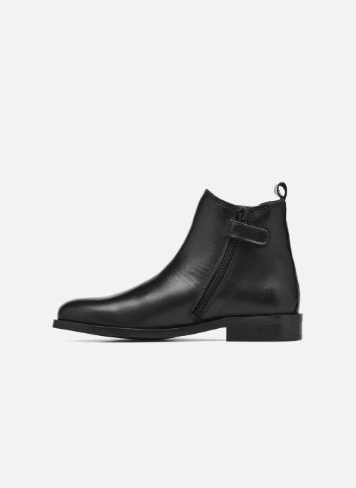 Bottines et boots Little Mary Toby Noir vue face