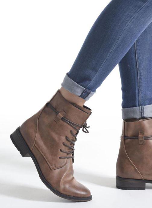 Bottines et boots Marco Tozzi Flora 2 Bleu vue bas / vue portée sac