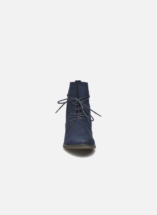 Bottines et boots Marco Tozzi Flora 2 Bleu vue portées chaussures