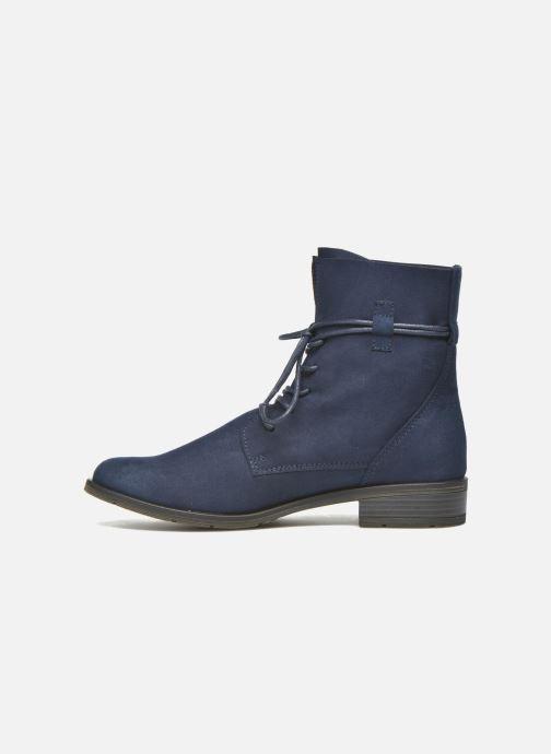Bottines et boots Marco Tozzi Flora 2 Bleu vue face