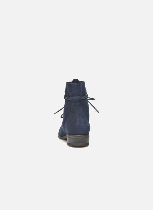 Bottines et boots Marco Tozzi Flora 2 Bleu vue droite